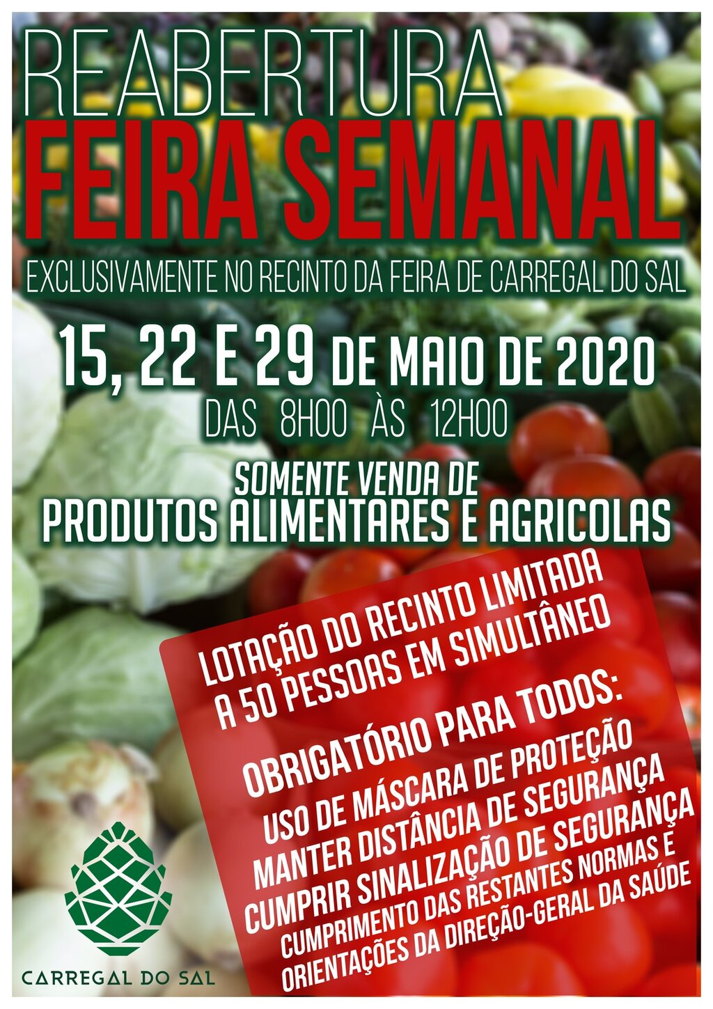 Feira Semanal no Recinto de Carregal do Sal